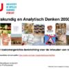Reken-wiskundig en analytisch denken 2050